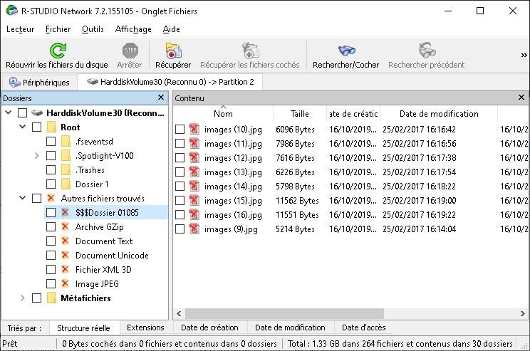 récupération données supprimées mac